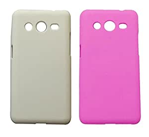 2 Pieces Winsome Deal Exclusive Hard Back Cover Case for Samsung G 335h