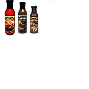 Walden Farm Calorie Free Variety Condiments Ketchup Original Bbq And Thick Spicy Bbq