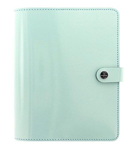 Filofax The Original A5 Size Leather Organzier Agenda Calendar with DiLoro Jot Pad Refills (A5, 2017 Duck Egg 026039) (Personal Organizer A5 compare prices)