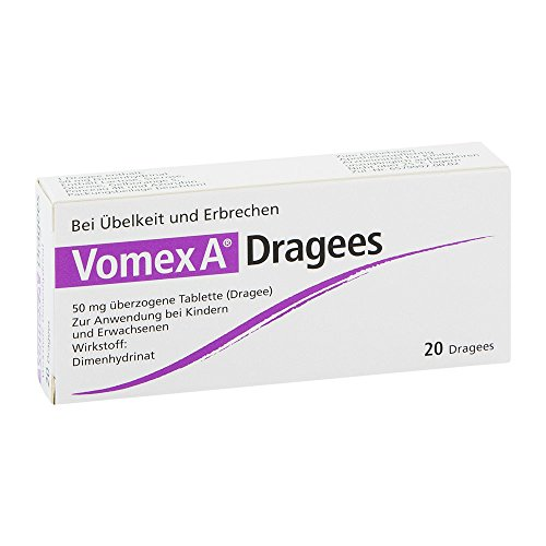 vomex-a-dragees-n-20-st
