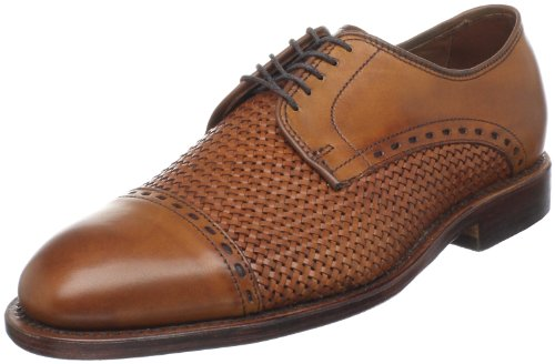 Allen Edmonds Men's New Orleans Oxford,Walnut/Weave,9.5 3E US