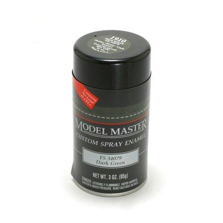 DARK GREEN (FS 34079) 3oz. Spray Can