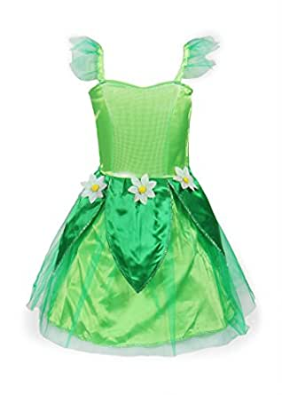 ReliBeauty Girls Tinkerbell Dress Costume