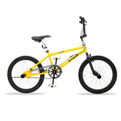 KYUZO キュウゾウ KZ-106 フリースタイルタイプBMX自転車(イエロー)
