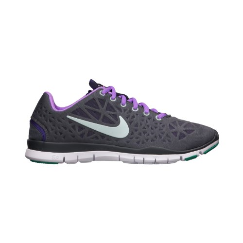 big sale 54df5 258f5 Nike Womens Free TR Fit 3 Running Shoes 555158 005 Gray Green Purple size 15
