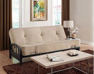 Futon Sofa Bed Frame AND 8