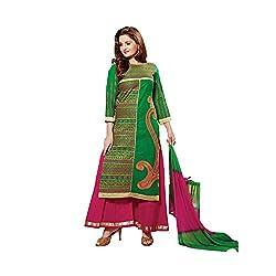 Pure Cotton SemiLawn Designer dress material