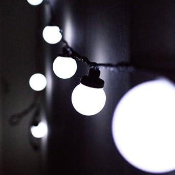 10er led party lichterkette wei 5m koppelbar typ c - Petite guirlande lumineuse led ...