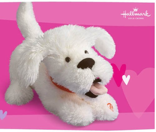 Hallmark I Love (Ruv) You Dog - Features Sound and Motion - 1