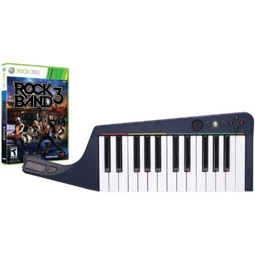 Portable, Mad Catz Rock Band 3 Wireless Keyboard Bundle With Rock Band 3 Software -Xbox 360 Edition: Bundle Platformfordisplay: Xbox 360 Consumer Electronic Gadget Shop