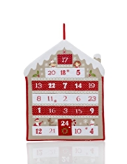 Gingerbread House Fabric Advent Calendar
