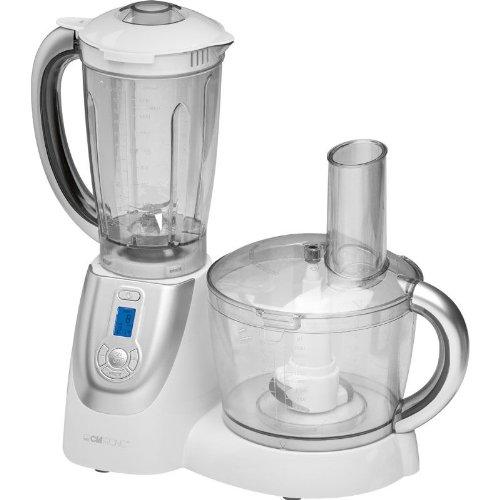 Clatronic Küchenmaschine 2 in 1 KM 3352 weiß 1000 Watt