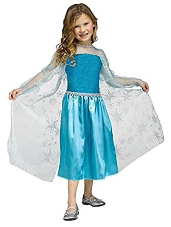 Girls Disney Frozen Elsa inspired Ice Queen Halloween Costume