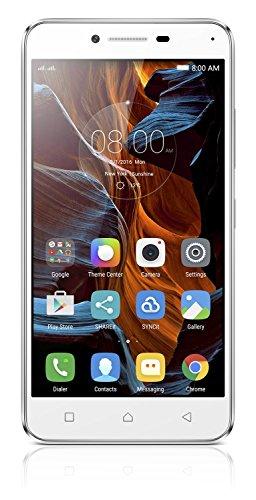 Lenovo K5 Smartphone Dual Sim, 2GB di Ram, 16GB di Memoria Interna, Display HD da 5 pollici, Fotocamera da 13 MP, Argento [Italia]