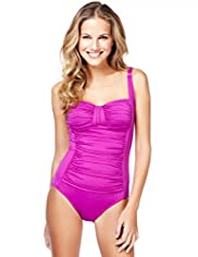 Tummy Control Ruched Swimsuit