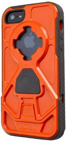 Great Price Rokform RokShield V.3 Bumper Apple iPhone 5 / 5S Case with Remote Mounting System (Orange Bumper / Gun Metal Body)