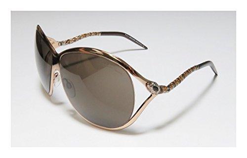 Roberto Cavalli Women's RC854S Sunglasses BRONZE 65
