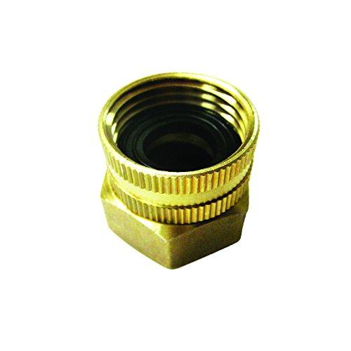 Snow Joe Spx-Bsc Dual Swivel Brass Connector, 3/4-Inch By 3/4-Inch front-418421