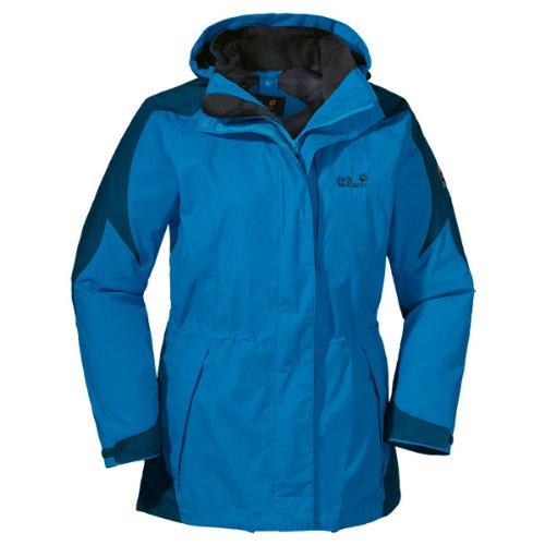 Jack Wolfskin Damen Jacke Mellow Range, Brilliant Blue, XL, 1103781-1152005