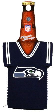 SEATTLE SEAHAWKS BOTTLE JERSEY KOOZIE COOZIE COOLER at Amazon.com