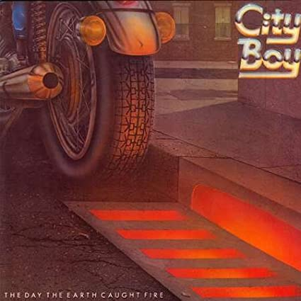 City Boy - The Day The Earth Caught Fire - Vertigo - 6360 173