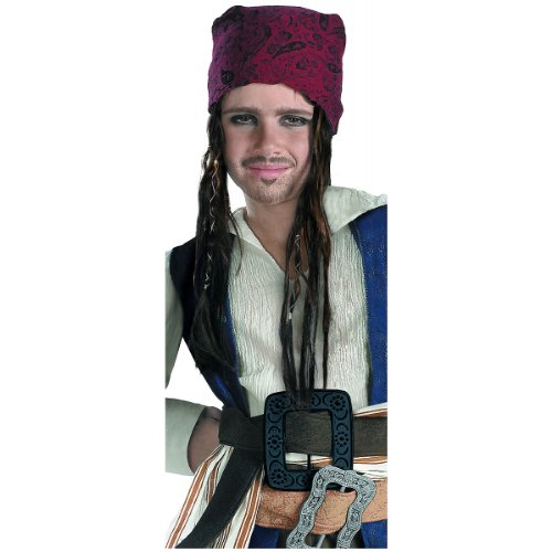 Pirates of the Caribbean - Costume Accessory: Jack Sparrow Headband w/Hair- Child