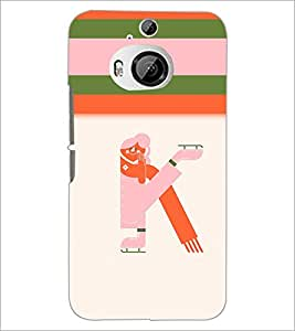PrintDhaba GRANDbet K D-2634 Back Case Cover for HTC ONE M9 PLUS (Multi-Coloured)