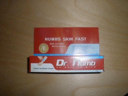 Dr.numb Numbing Anaesthetic Cream Lidocaine 10 G Tube