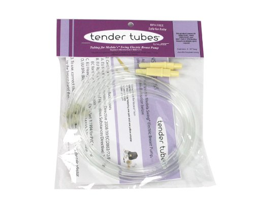 Why Should You Buy Replacement Tubing (Retail Pack of 2) for Medela Swing Electric Breast Pump By Te...