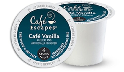 Keurig K Cups Cafe Escapes front-639560