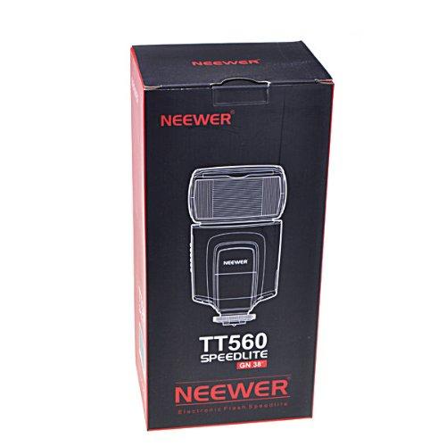 Neewer TT560 Flash Speedlite For Canon/Nikon Digital SLR Cameras