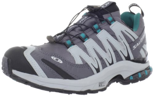 Salomon Women's XA Pro 3D Ultra 2 WP Trail Running Shoe,Dark Cloud/Light Onyx/Dark Bay Blue,9.5 M US Salomon B008JFCTTS