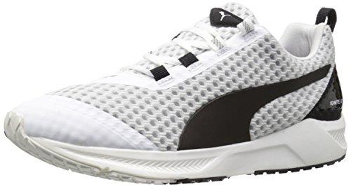PUMA Women's Ignite Xt Core WNS running Shoe, White/Black, 11 B US