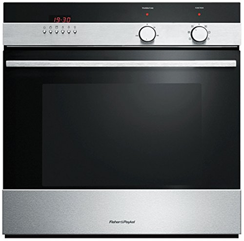 Fisher & Paykel OB60SCEX4 89420 Multifunction Electric Built-in Single Oven Brushed Stainless Steel
