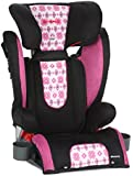 Diono Monterey High Back Booster with Adjustable Headrest, Bloom