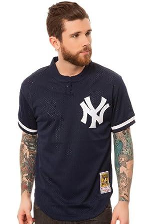 Mitchell & Ness Mens New York Yankees Bernie Williams BP Jersey by Mitchell & Ness