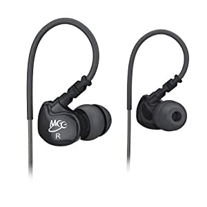 MEE audio Sport-Fi M6 Noise Isolating In-Ear Headphones with Memory Wire (Black)