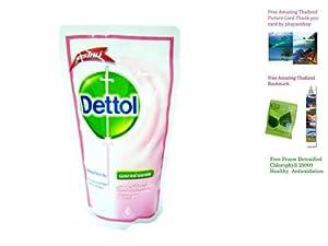 Dettol Skincare Anti-bacterial Hygienic Body Wash Shower Gel Cream Bath 220 Ml Made in Thailand