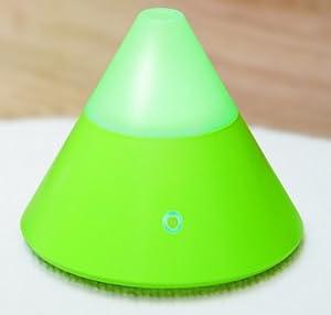 ZAQ Noor Litemist Aromatherapy Essential Oil Diffuser, Green