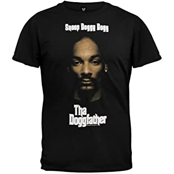 Snoop Dogg - Mens Doggfather T-shirt 2X-Large Black