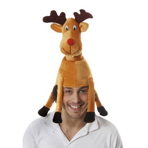 Adult Xmas Reindeer Hat