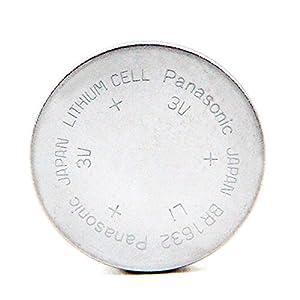 Panasonic - Pila botón litio BR1632 PANASONIC 3V 120mAh - Pila(s) marca Panasonic