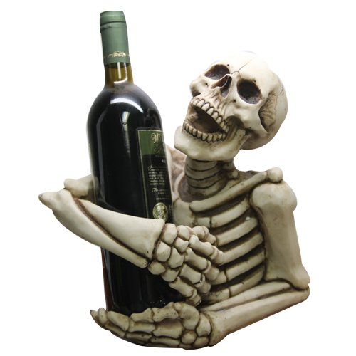 Skeleton Decorative Design Collectible Wine Bottle Holder