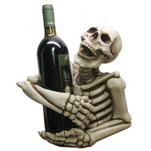 Skeleton Decorative Design Collectible Wine Bottle Holder