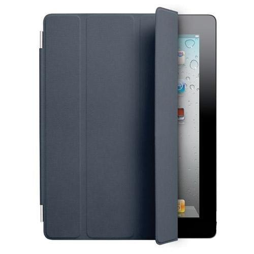 アップル 【 純正】Apple iPad2 & The New iPad (第3世代) Smart Cover スマートカバー 革製 【Navy Blue】