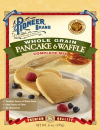 Pioneer Brand Whole Grain Pancake & Waffle Mix 6 Oz Packets (Pack of 6) (Pioneer Pancake Mix compare prices)