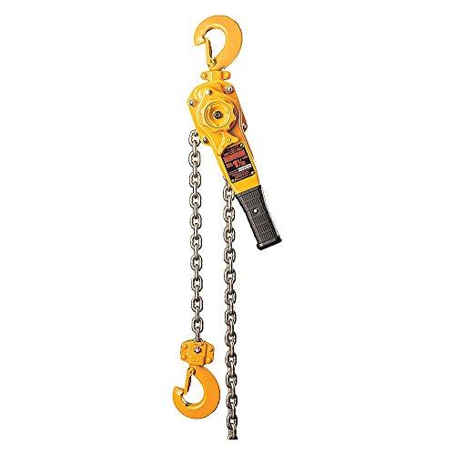 Harrington Hoists - LB015-10-SC-SYH - Lever Chain Hoist, 3000 lb. Load Capacity, 10 ft. Lift, 1 Hook Opening