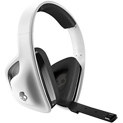 Skullcandy SLYR with Mic Wired Gaming Headphone - White