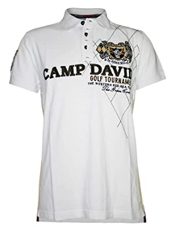 camp david men designer polo shirt golf tournament xxl. Black Bedroom Furniture Sets. Home Design Ideas