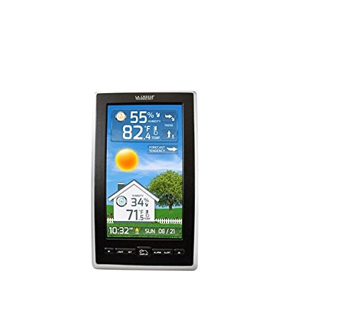 how to change batteries in la crosse weather station